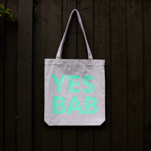 Load image into Gallery viewer, YES BAB tote bag