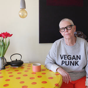VEGAN PUNK adult sweat