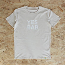 Load image into Gallery viewer, YES BAB adult tee