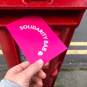 SOLIDARITY BAB postcard pack