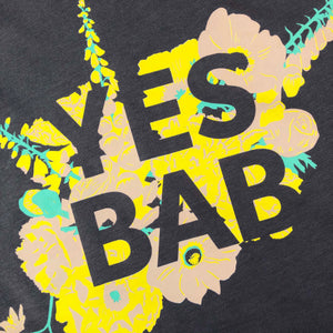 YES BAB floral adult tee