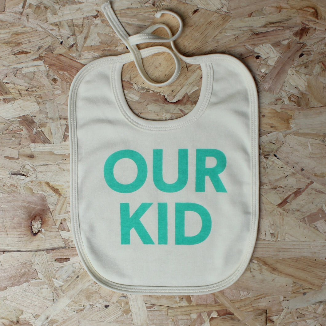 OUR KID bib