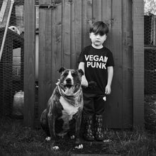 Load image into Gallery viewer, VEGAN PUNK kids tee