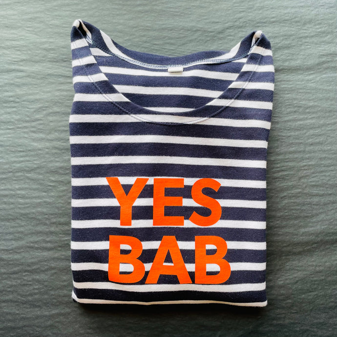 *new!* YES BAB long sleeve breton