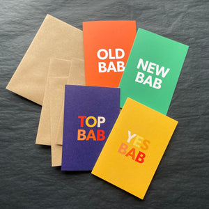 TOP BAB card