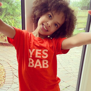 YES BAB kids tee