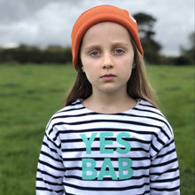 Load image into Gallery viewer, YES BAB kids long sleeve breton