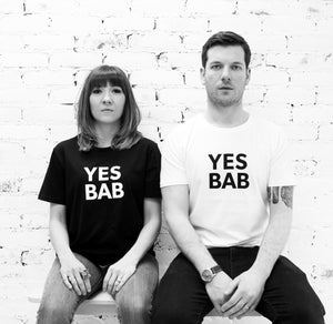 YES BAB adult tee