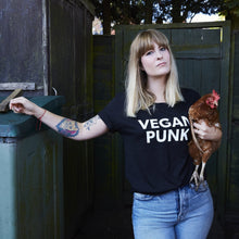 Load image into Gallery viewer, VEGAN PUNK adult tee