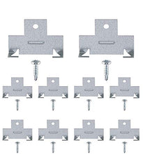 Load image into Gallery viewer, Recessed Light Clips for Downlight | 5 Pairs of Recessed Lighting Clips | Perfect for recessed retrofit Down Light