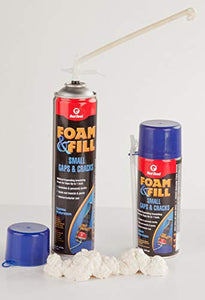 Red Devil 0913 Foam & Fill Small Gaps & Cracks Expanding Polyurethane Foam Sealant 12-Ounce Off White: Home Improvement