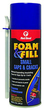 Load image into Gallery viewer, Red Devil 0913 Foam & Fill Small Gaps & Cracks Expanding Polyurethane Foam Sealant 12-Ounce Off White: Home Improvement