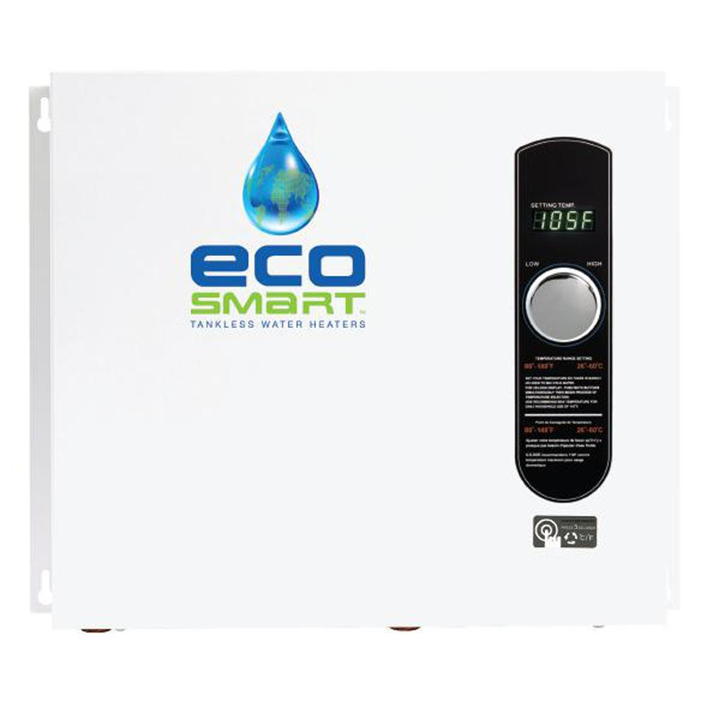 ECO Smart 36- Electric Tankless Water Heater Installation- Residential