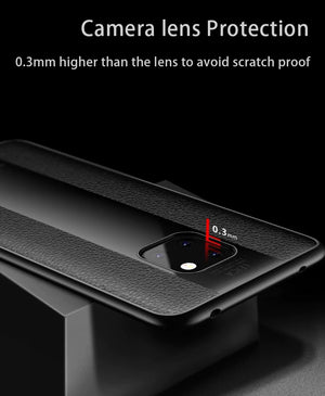 Luxury Silicone TPU+Plexiglass 2 in 1 For Huawei Mate 20 Pro /Mate 20/ Mate 20 X Case