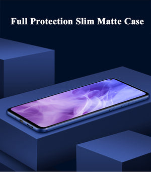 Full Protection Soft Silicone Matte Case Cover For Huawei Nova 4