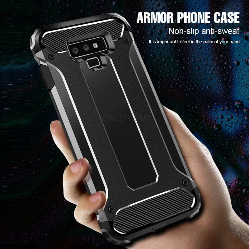 Luxury Anti-Fall Armor Shockproof Case Cover For Samsung Galaxy S7 Edge S8 S9 Plus Note 8 9 Case