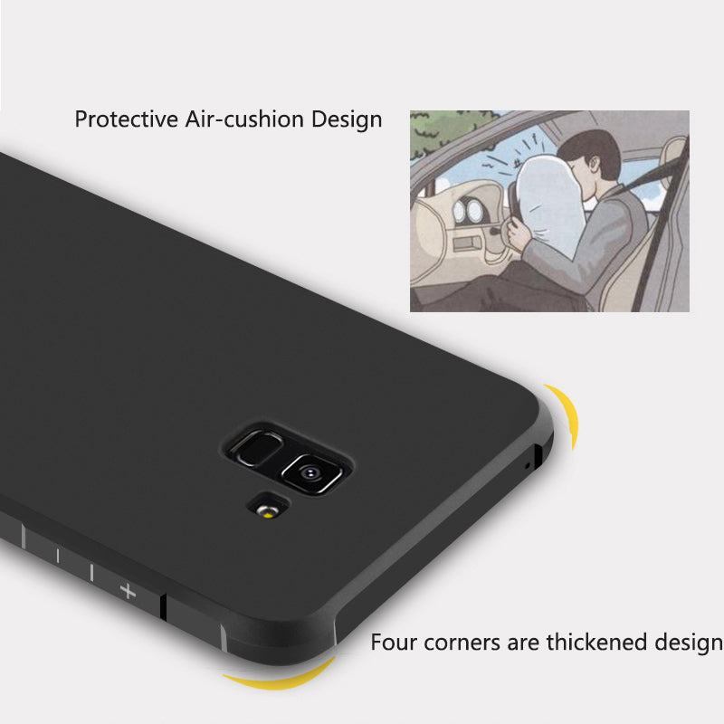 Anti-knock 3D Dragon Soft Silicon back cover Case for Samsung A8 2018 A530F A8 Plus 2018 A730F