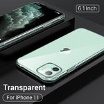 Ultra Thin Soft Silicone TPU For iPhone 11