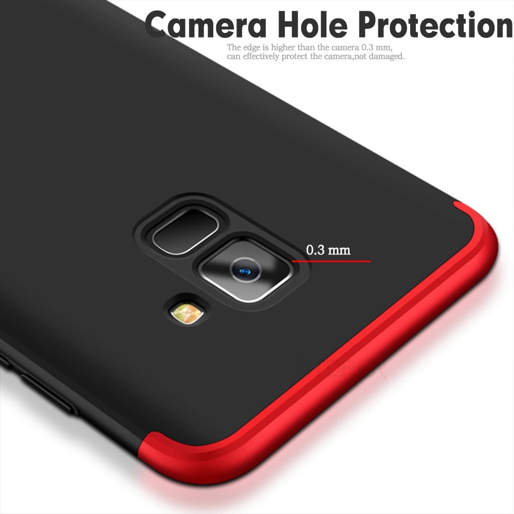 Luxury Protector Phone Cases For Samsung Galaxy A8 A8+ 2018