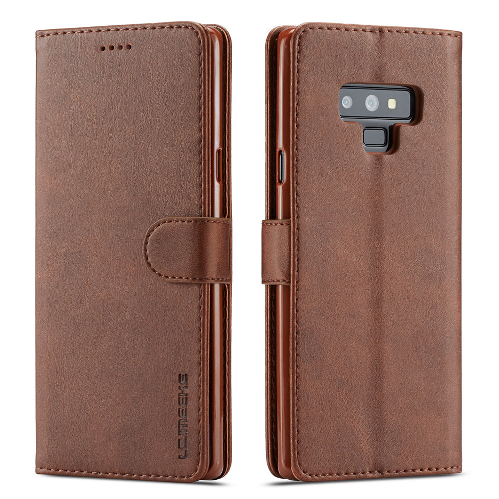 Luxury Leather Flip Wallet Case For Samsung Galaxy Note 9