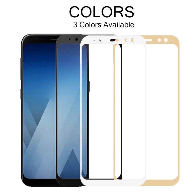 Screen Protector Tempered Glass For Samsung Galaxy A8 & A8 Plus