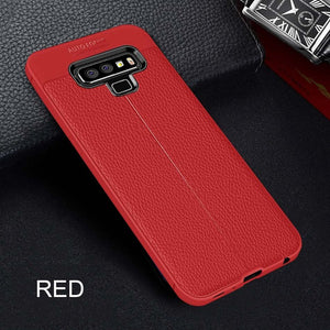 Ultra-Thin Soft Silicone Leather Case For Samsung