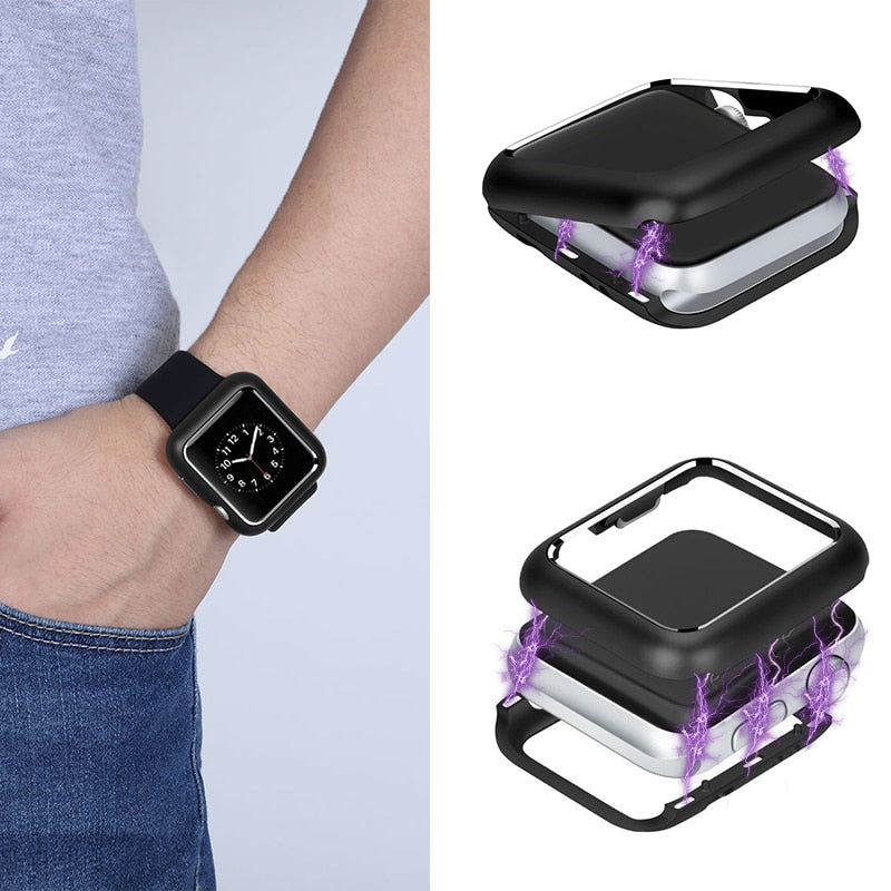 Magnetic Adsorption Protective Case For Apple Watch