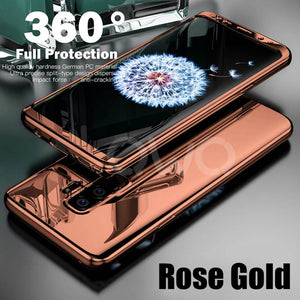360 Degree Plating Mirror Cases For Samsung Galaxy S9