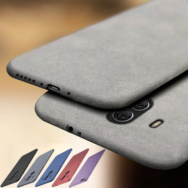 Luxury Ultra Slim Matte Scrub Sandstone Pattern Soft Phone Case For Huawei Mate 20 Lite Mate 20 Pro P20 Pro P20 Lite