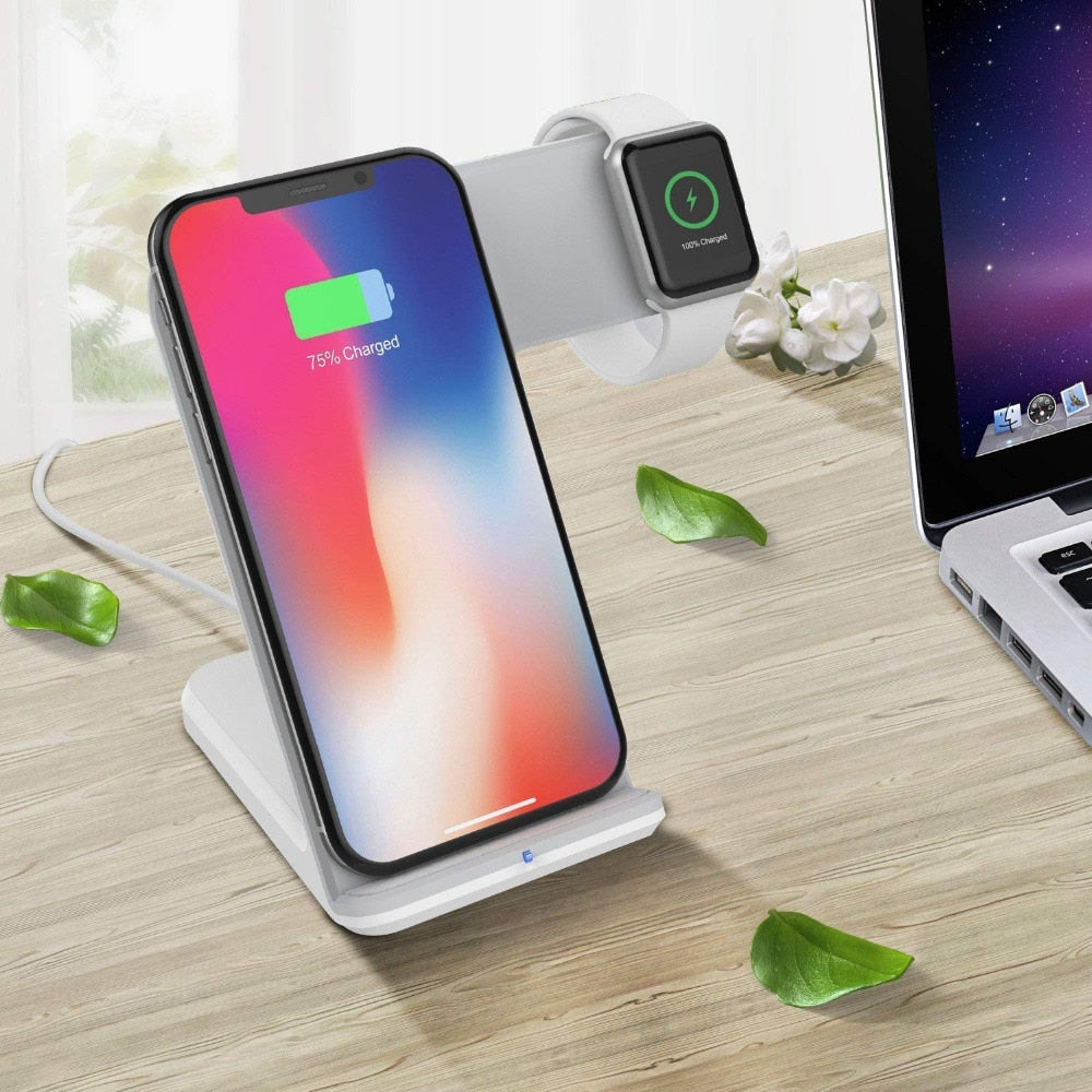 QC 3.0 USB Fast Wireless Charging Holder