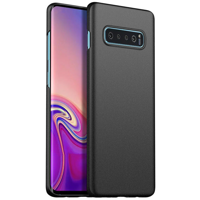 Ultra-Thin Minimalist Slim Protective Phone Case Back Cover for Galaxy S10 S10e S10 Plus