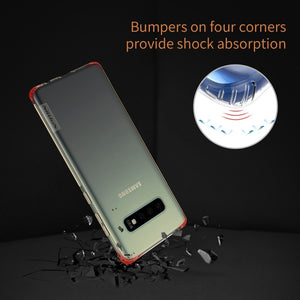 Transparent soft back cover case for Samsung Galaxy S10