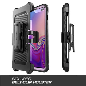 Full-Body Rugged Holster Kickstand Case For Samsung