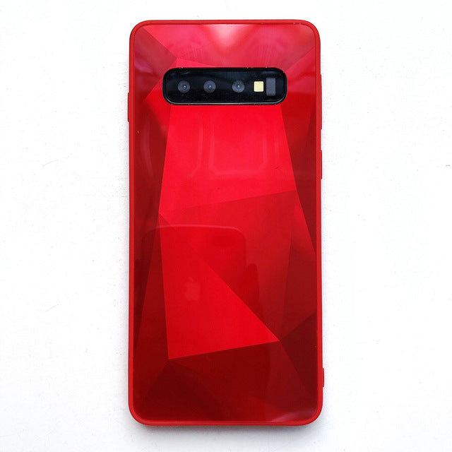 3D Diamond Mirror Phone Case For Samsung Galaxy