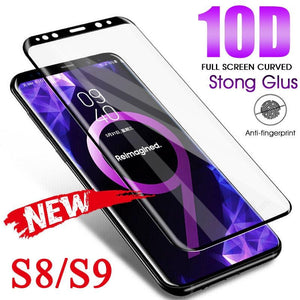 10D Curved Tempered Glass For Samsung Galaxy S9
