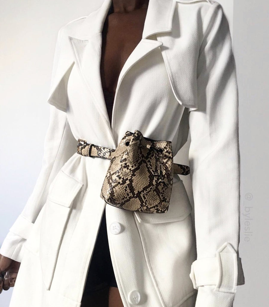 Animal print Belt Bag