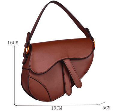 RACHEL FLAP LIMITED BAG BROWN