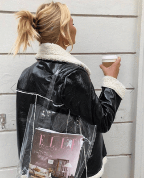 Transparent Shopping Tote