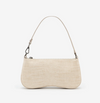 LARA Shoulder Bag - Ivory Croc