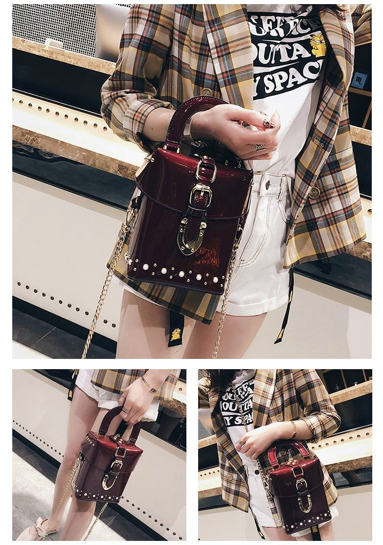 MINI CUBE CROSSBODY BAG