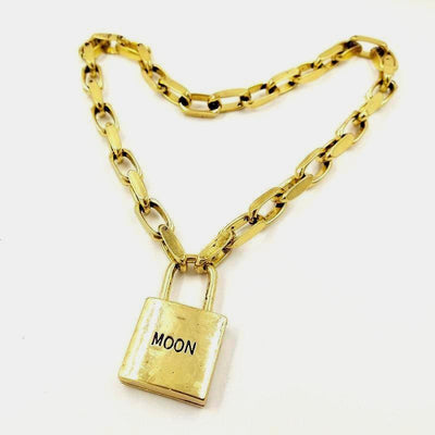 MOON LOCK -LIMITED EDITION- NECKLACE