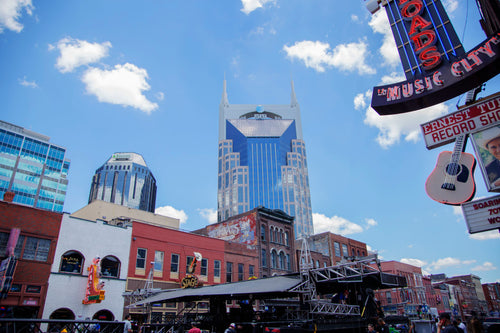 Nashville downtown scenery