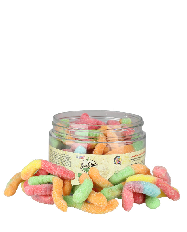 Sun State Hemp - CBD Gummy Worms - Edibles & Gummies - 1150MG - Sun State Hemp - Have A Nice Day CBD