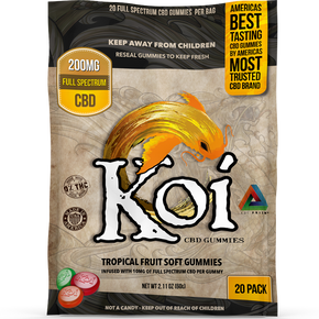 Koi CBD Tropical Fruit Gummies - Have A Nice Day CBD