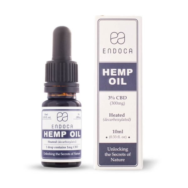 Endoca - Hemp Oil Drops CBD 3%