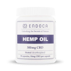 Endoca - Hemp Oil Capsules CBD - Have A Nice Day CBD