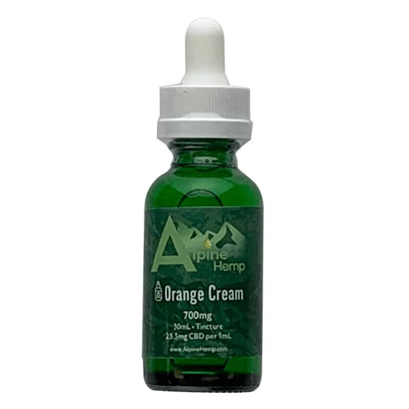 Alpine Hemp - CBD Tincture - Orange Cream - 350mg-1400mg - Oils -  - Alpine Hemp - Have A Nice Day CBD