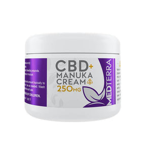 Medterra - CBD Topical - Manuka Cream - 250mg - Bodycare -  - Medterra - Have A Nice Day CBD