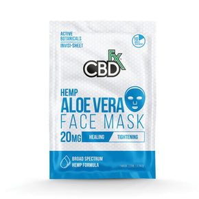 CBDfx - CBD Face Mask - Aloe Vera - 20mg - Bodycare -  - CBDfx - Have A Nice Day CBD