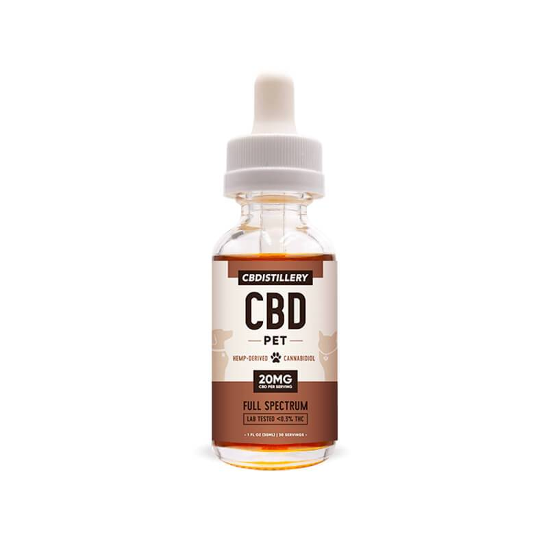 CBDistillery - CBD Pet Tincture - Full Spectrum - 600mg - Oils -  - CBDistillery - Have A Nice Day CBD